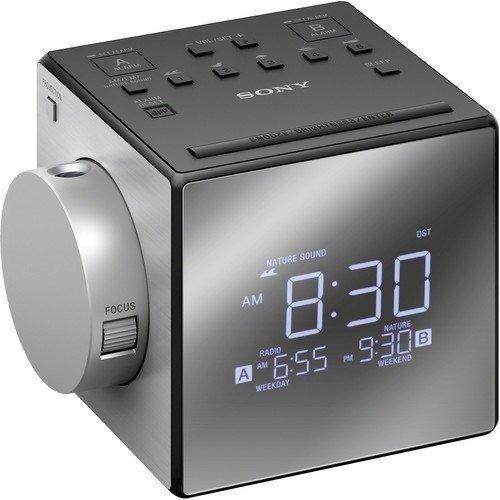 Compacto De Am - Fm Radio Reloj Con Alarma Doble Con Grandes