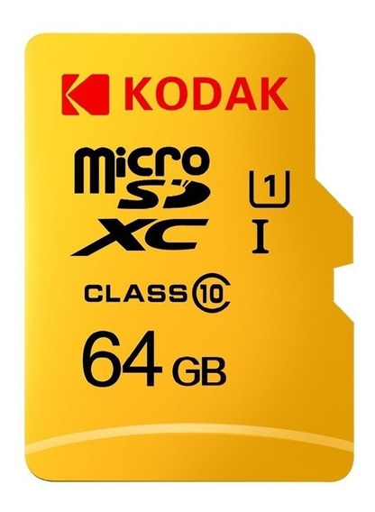 Cartão Micro Sd Kodak 64gb 85mb/s Classe 10 + Leitor