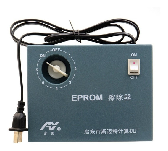 Apagador De Eprom Uv Com Timer 6 A 8 Chips Ciclo Bivolt
