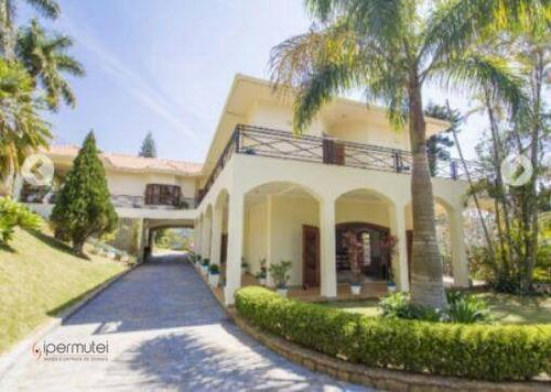 Imagem 1 de 29 de Linda Casa Em Chácara Com 4 Dormitórios À Venda, 12500 M² - Jardim Timbara - Campo Limpo Paulista/sp - Ch0002