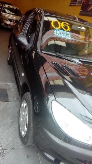 Peugeot 206, 06 Completo, 4 Pts, 1.0*entrada 12 X Sem Juros