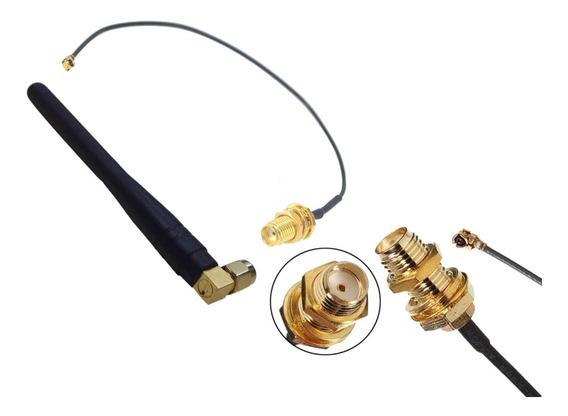 Antena Omni 915/433mhz 3dbi + Pigtail Conector Hacia U.fl Ip