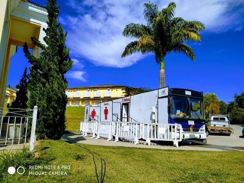 Ônibus  Banheiro Luxo Para Festas E Eventos