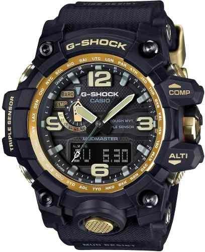 Relogio Casio G-shock Wg1000gb-1a Master G Mudmaster Black