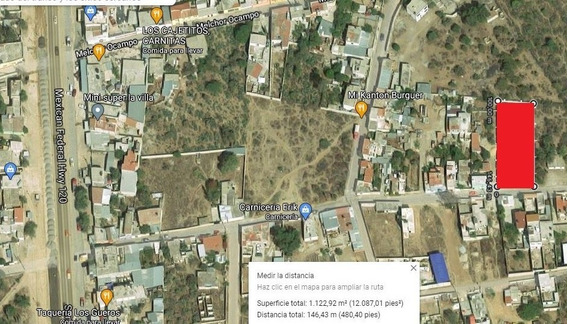 Terreno En Renta Cadereyta Querétaro