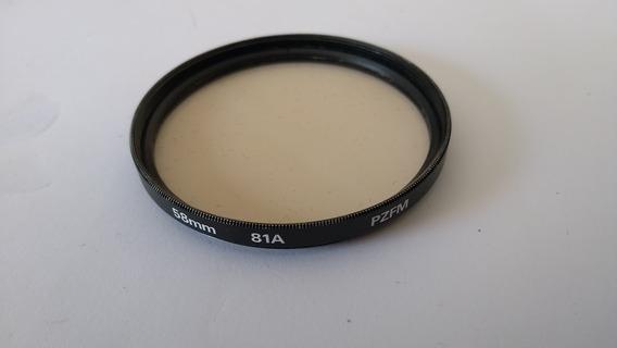Filtro 81a 58 Mm Pzfm