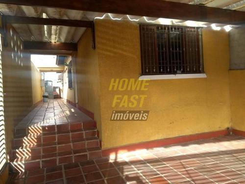 Imagem 1 de 15 de Casa Com 2 Dormitórios À Venda, 79 M² Por R$ 530.000,00 - Vila Rosália - Guarulhos/sp - Ca0392