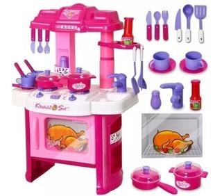 Cocina Infantil Luz Y Sonido Niñas Envio Gratis Mas Obsequio
