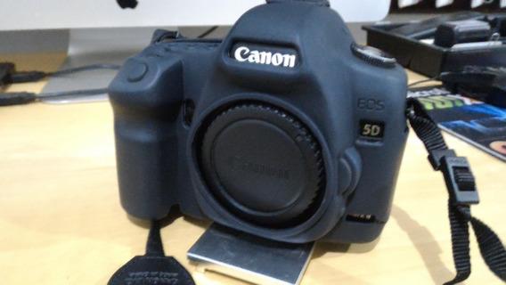 5d Ii-camera Canon 5d Ii Muito Conservada