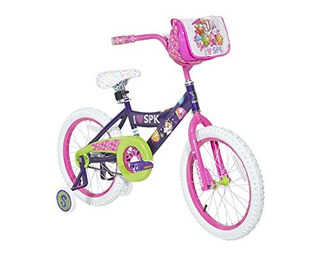 Dynacraft Shopkins Chicas Street Bike 18 Purplepinkgreenwhit