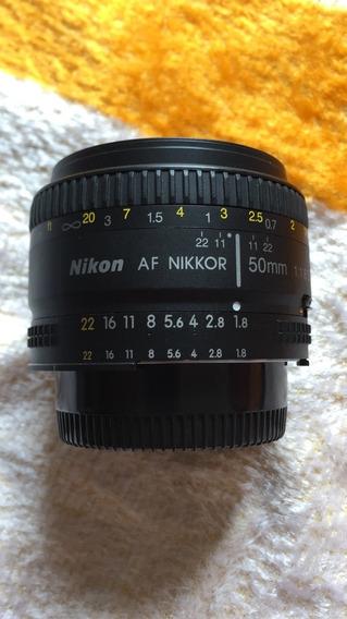 Lente 50mm 1.8 Nikkor