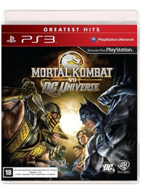 Game Mortal Kombat Vs. Dc Universe