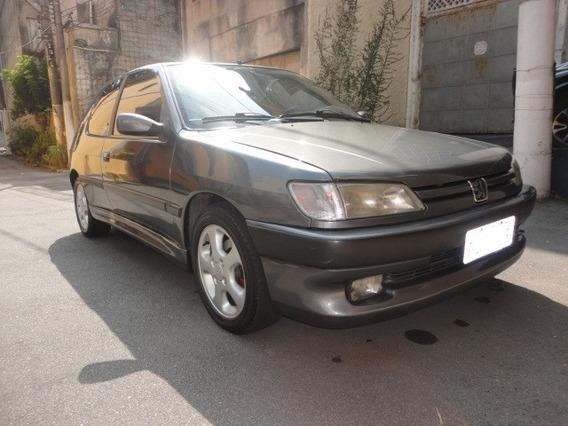 Raro Peugeot 306 S16 1995 2.0 16v Gasolina Hatch Xsi Coleção