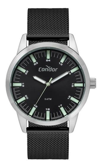 Relógio Condor Masculino Pulseira Mesh Co2035mtb/3p