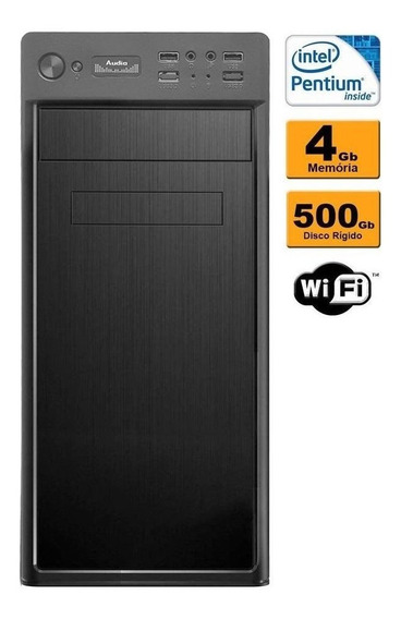 Cpu Intel Dual Core 4gb Ddr2 Hd 500gb Wi-fi