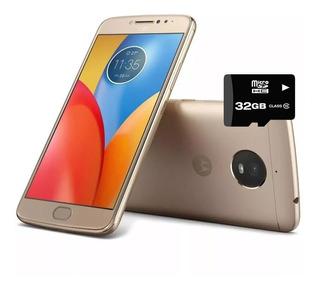 Celular Moto E4 Plus Dorado 16gb Libre Fabrica + Micro 32gb