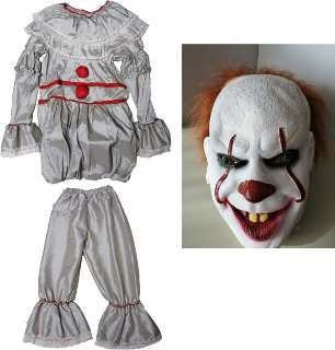 Disfraz It Pennywise Payaso Halloween De Talla 4 Hasta 16