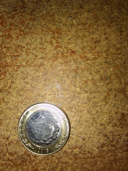 Moneda 2 Pesos 2015 Con Error Grave