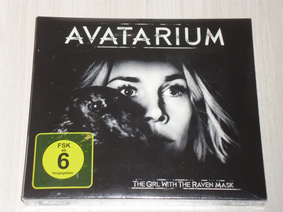 Box Avatarium - The Girl With Raven Mask (c/ Dvd) Candlemass