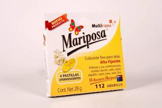 Colorante Mariposa Multifibra Amarillo 112
