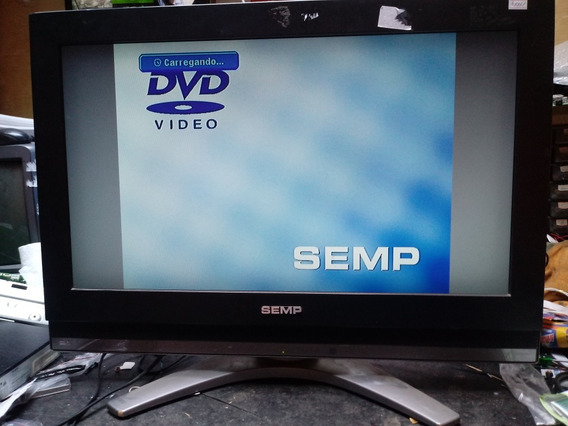 Com Defeito Tv Lcd Semp Lc2640w Funciona Um Tempo E Desliga