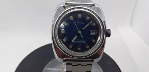 Antigo Relógio De Pulso Masculino Timex