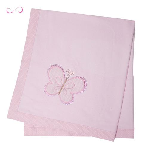 Cobertor Manta Bebê Menina Soft Antialérgico Macio Papi Toys