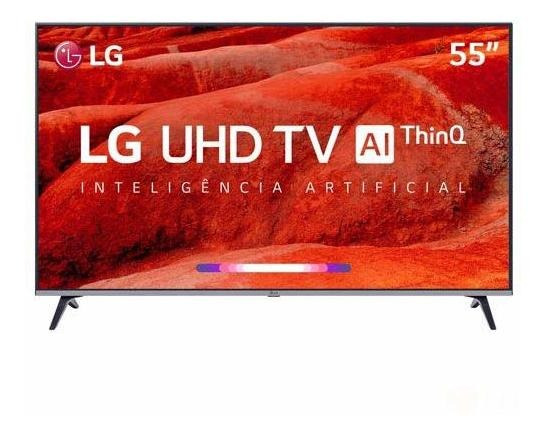 Smart Tv Uhd 4k Lg Led 55 Wi-fi - 55um7520psb