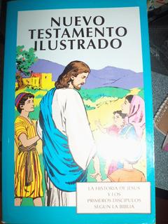 Libro Nuevo Testamento Ilustrado Usado