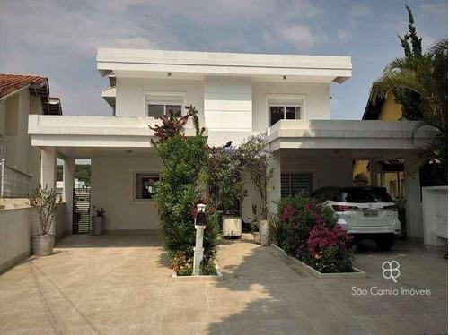 Imagem 1 de 29 de Casa Com 5 Dormitórios À Venda, 413 M² Por R$ 3.200.000,00 - Granja Viana - Cotia/sp - Ca1726