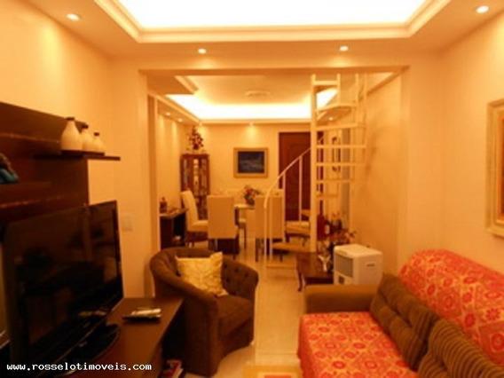 Cobertura Para Venda Em Niterói, Meier, 2 Dormitórios - Cb161