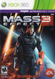 Mass Effect 3 Xbox 360 Juego Fisico Original Sellado