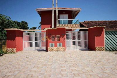Casas Lado Paia Com 2 Dorms E Piscina Em Itanhaém, Cod: 67 - V67