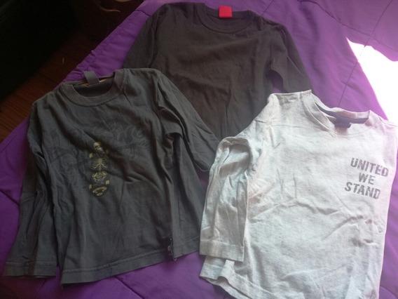Lote Pantqlon Remera Y Camisa