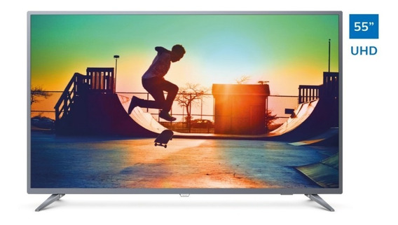 Televisor Philips Smart 4k Uhd Ultradelgado 55 55pud6513