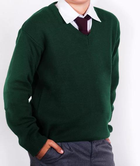Combo Escolar Pullover + Camisa + Pantalón - Talle Niño