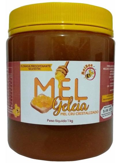 Mel Cru - Cristalizado - Pote 1 Kg