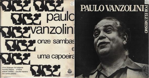 2 Lp Disco De Vinil Paulo Vanzolini Mpb Samba Capoeira