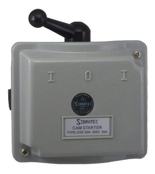 Chave Eletromecânica Reversora 3 Polos - 30a (plástica)