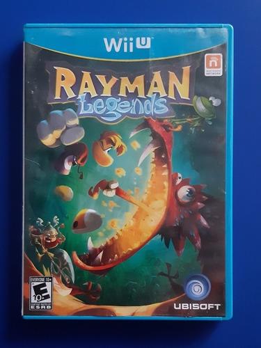 Juego Nintendo Wii U No Funcional Rayman Legends