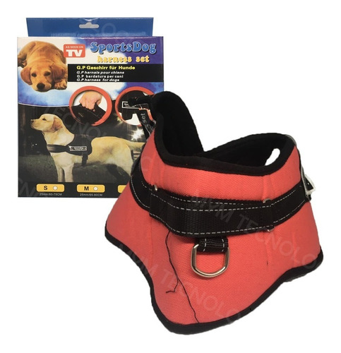 Arnés Perros Pechera Sports Dog Harness Set Tv Talla M