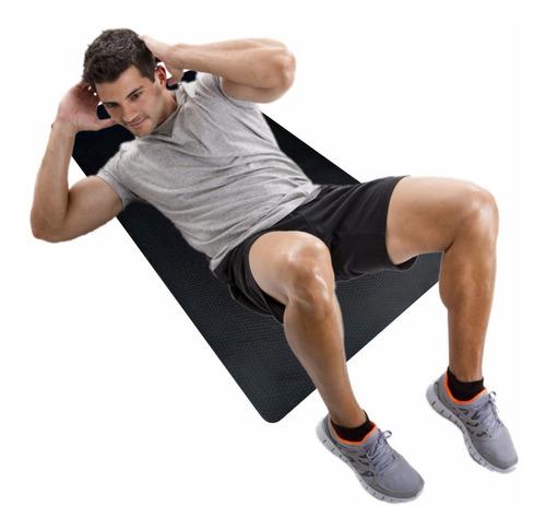 Imagem 1 de 6 de Colchonete Academia Abdominal Fitness Yoga 1,00x0,50cmx20mm