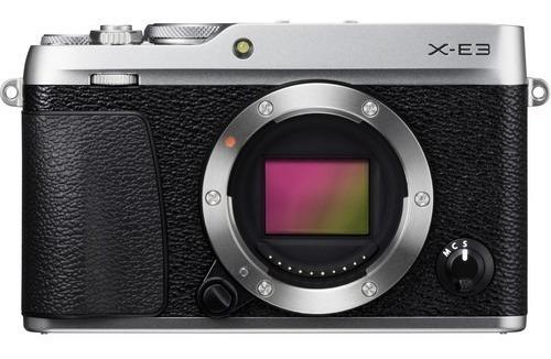 Body Fujifilm X-e3 24.3mp Uhd 4k/30p Silver * Usd930