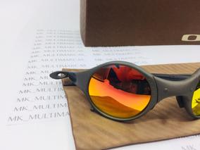 b5ba185ab Oculos Oakley Juliet Vermelho Espelhado - Óculos no Mercado Livre Brasil