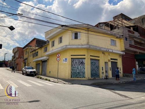 Imagem 1 de 9 de Prédio Com Renda, 500 M² 70 % Já Alugado - Santo Antônio - Osasco/sp - Pr0021