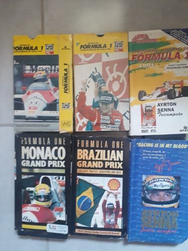 Vhs Para Dvd Formula 1 89 /160m - Original - Raro