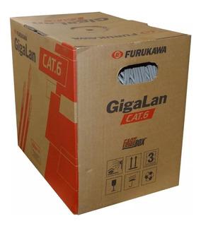 Cable Utp Furukawa Interior Gigalan Cat6 Caja Bobina 305mts
