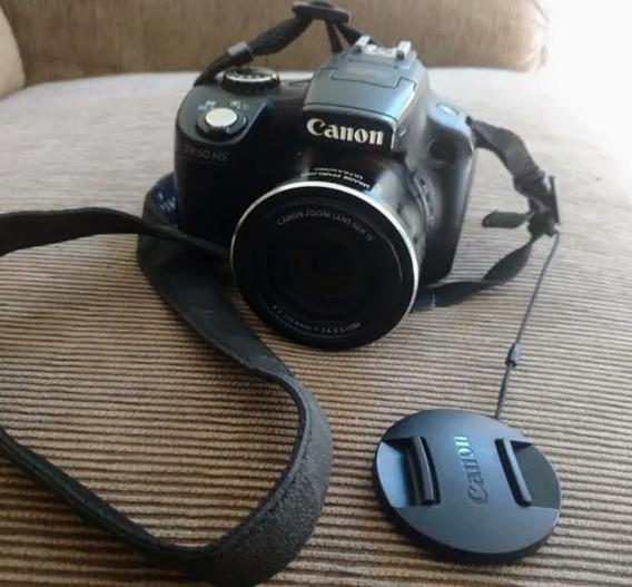Câmera Semi Profissional Canon Sx50hs