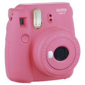 Kit Instax Mini 9 Camera + Bolsa + 10 Filmes Flamingo