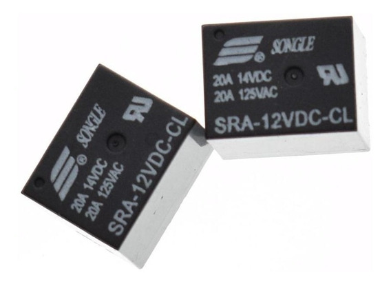 Relé 12v 20a Sra-12vdc-cl Arduino Pic 1 Peça